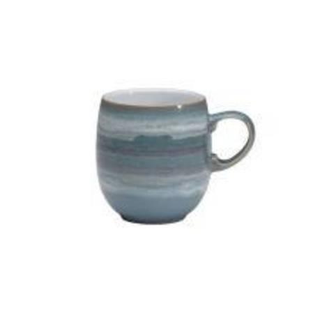 Azure 'Coast' Curved Mug Large