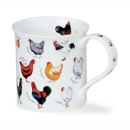 Dunoon Animal Breeds Chickens Mug