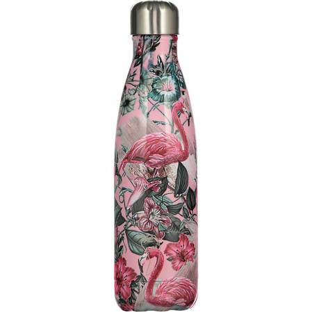 Chilly's Insulated Bottle Flamingo 500ml