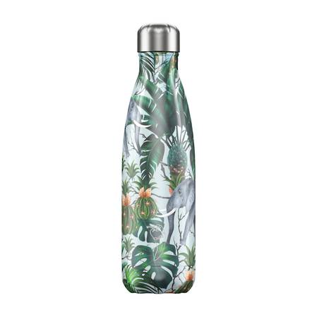 Chilly's Insulated Bottle Tropical Elephant 500ml