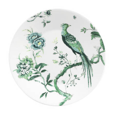 Chinoiserie White Lunch Plate