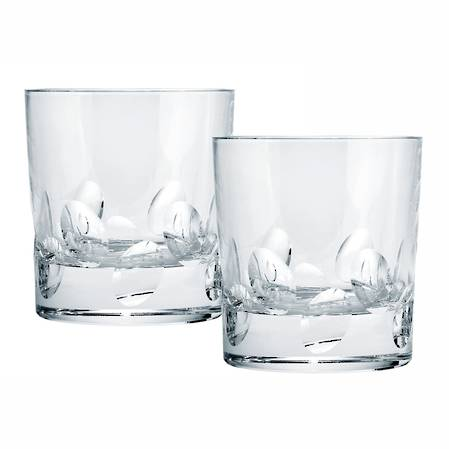 Cluny Double Old Fashioned Tumbler Pair