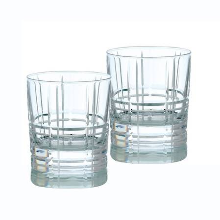Scottish Double Old Fashioned Tumbler Pair