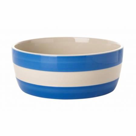 Cornish Blue Dog Bowl