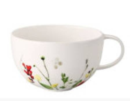 Fleurs Sauvages Low Cup and Saucer