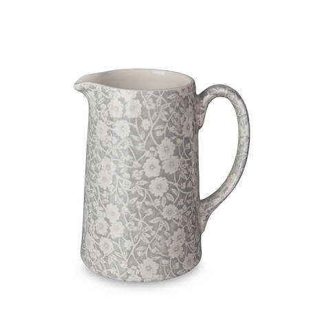 Dove Grey Calico Tankard Jug
