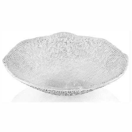 Diamante Clear Bowl 33cm