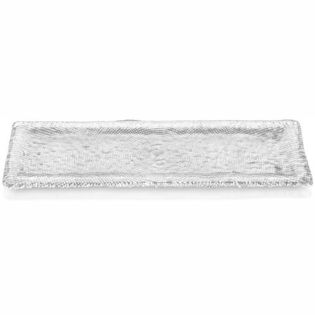Diamante Clear Rectangular Platter 53cm