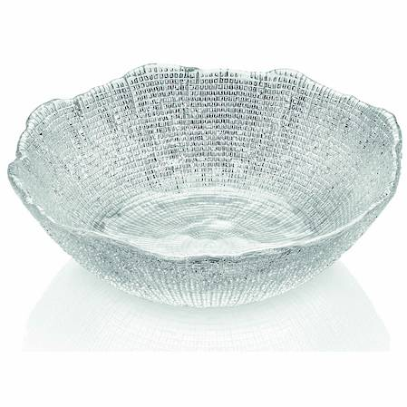 Diamante Clear Salad Bowl 28cm