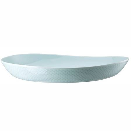 Junto Opal Green 33cm Low Bowl