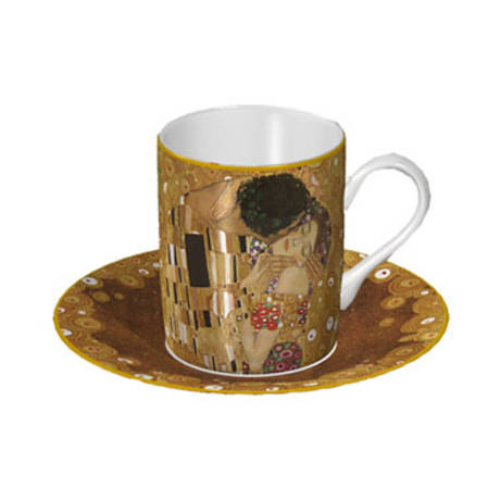 Klimt The Kiss Cup & Saucer