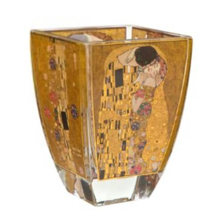 Klimt The Kiss Glass Tealight