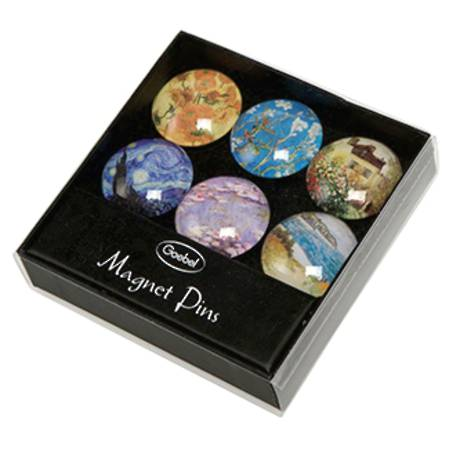 Van Gogh Magnet set of 6