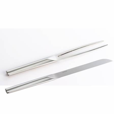 Living Serving Knife & Fork