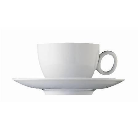 Loft White Espresso Cup & Saucer