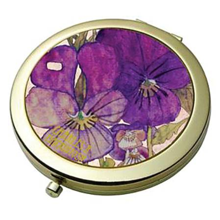 Pansies - Mackintosh Pocket Mirror