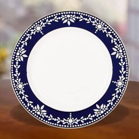 Empire Pearl Indigo Side Plate