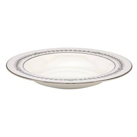 Empire Pearl Pasta / Rimmed Soup Bowl