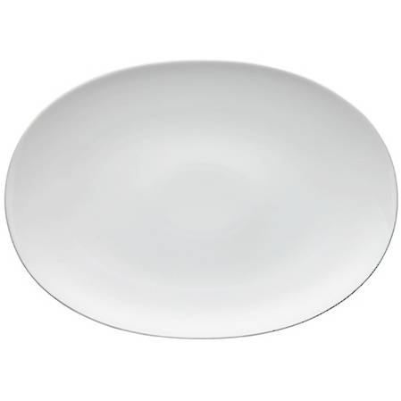Medallion Platinum Oval Platter - asstd sizes