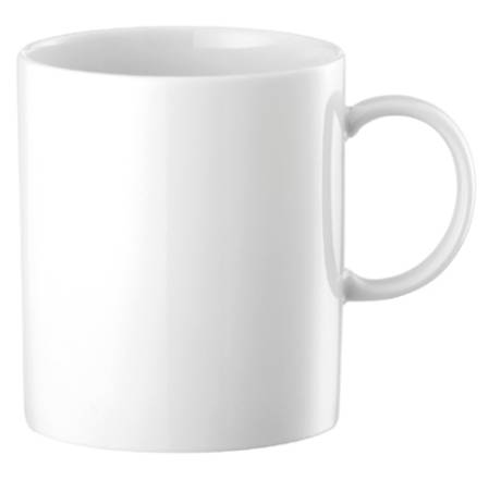 Medallion White Coffee Mug