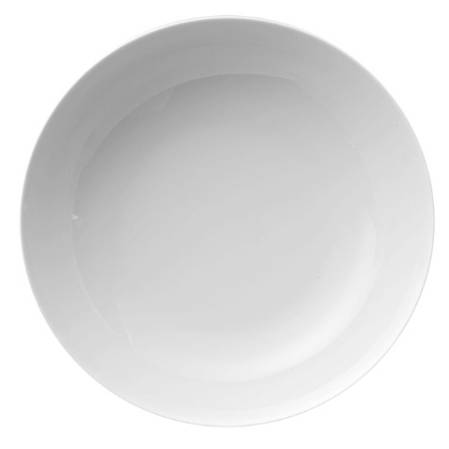 Medallion White Pasta Bowl