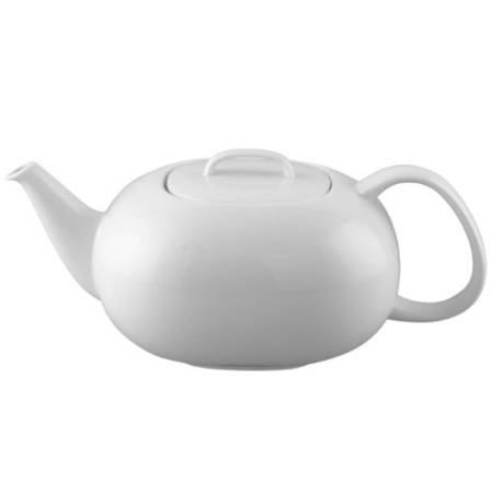 Moon White Tea Pot