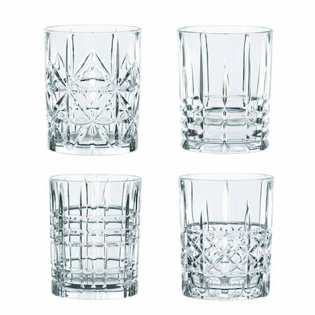 Highland Double Old Fashioned Set of 4
