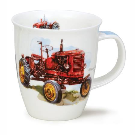 Dunoon Red Tractor Mug