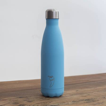 Chilly's Insulated Bottle Pastel Blue 500ml