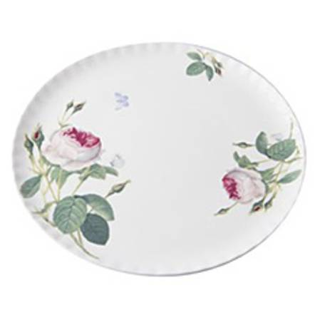 Redoute Rose Cake Plate
