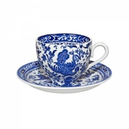 Regal Peacock Tea Cup & Saucer