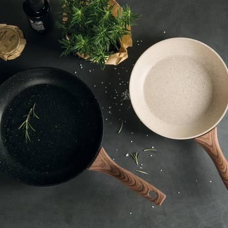 Rock'N'Rose Chefs Pan 28cm Black