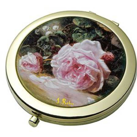 Rose - Robie Pocket Mirror