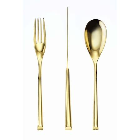 H-Art PVD Gold 58 Piece Cutlery Set