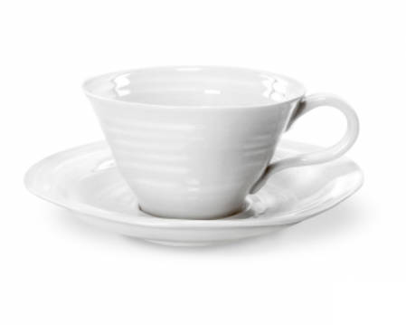 Sophie Conran Teacup & Saucer White