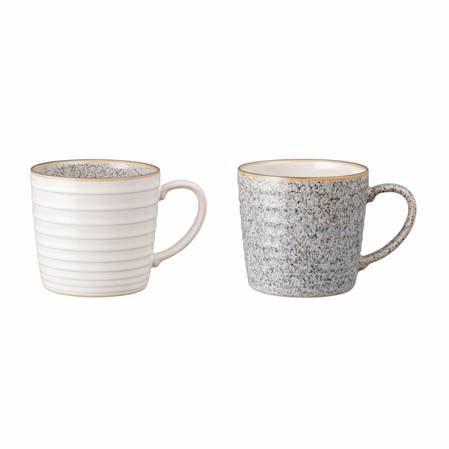 Studio Grey Ridged Mug Mixed Pair