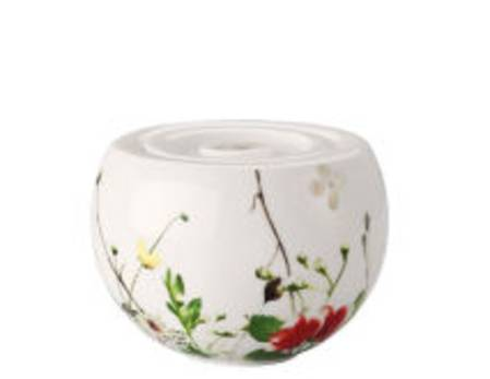 Fleurs Sauvages Sugar Bowl and Lid