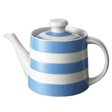 Cornish Blue Tea Pot