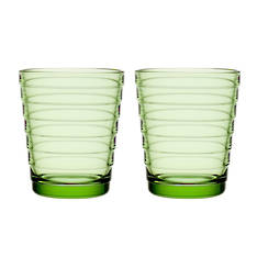 Aino Aalto Tumbler Small Pair Apple Green