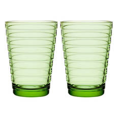 Aino Aalto Tumbler Pair Apple Green