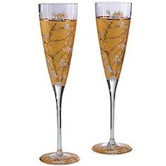 Van Gogh Almond Tree Gold Flutes