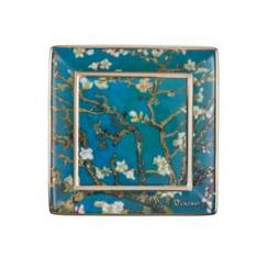 Van Gogh Almond Tree Square Mini Plate