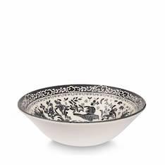 Black Regal Peacock Cereal Bowl