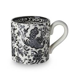 Black Regal Peacock Mug