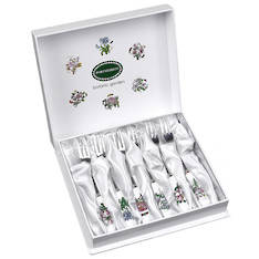 Botanic Garden Pastry Fork Set of 6
