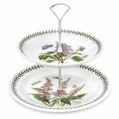 Botanic Garden Two Tier Cake Stand