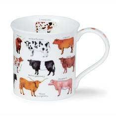 Dunoon Animal Breeds Cattle Mug
