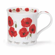 Dunoon Summer Flowers Poppies Mug