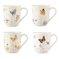 Butterfly Meadow Mugs Set of 4
