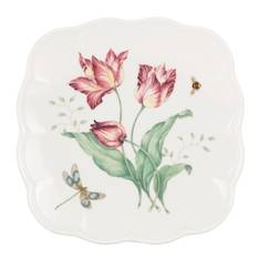 Butterfly Meadow Square Plate